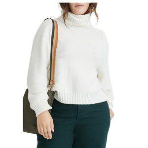NWT MADEWELL Varick Turtleneck Sweater NEW LARGE